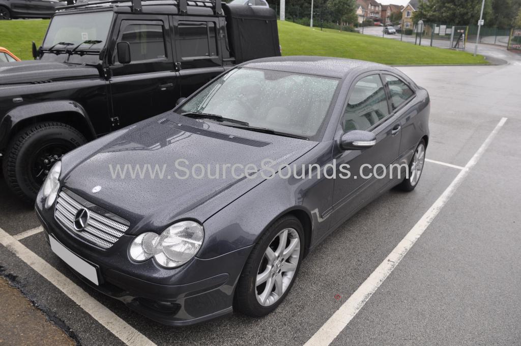 Mercedes C220 2006 navi upgrade 001