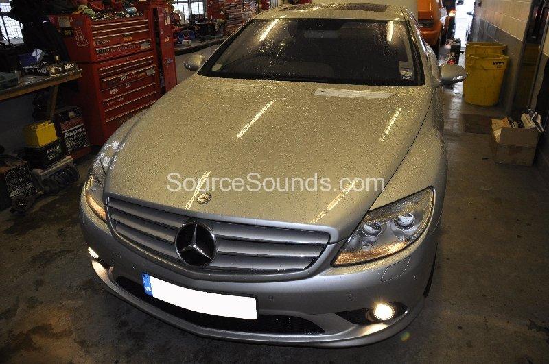 Mercedes_CL500_custom_audio_upgrade - Source Sounds