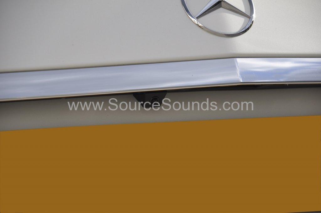 Mercedes E63 AMG reverse camera upgrade 004