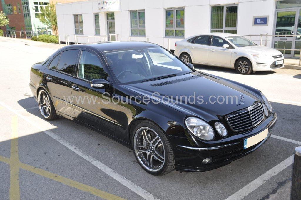 Mercedes E Class 2006 speaker upgrade 001