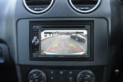 Mercedes ML 2006 reverse camera upgrade 006