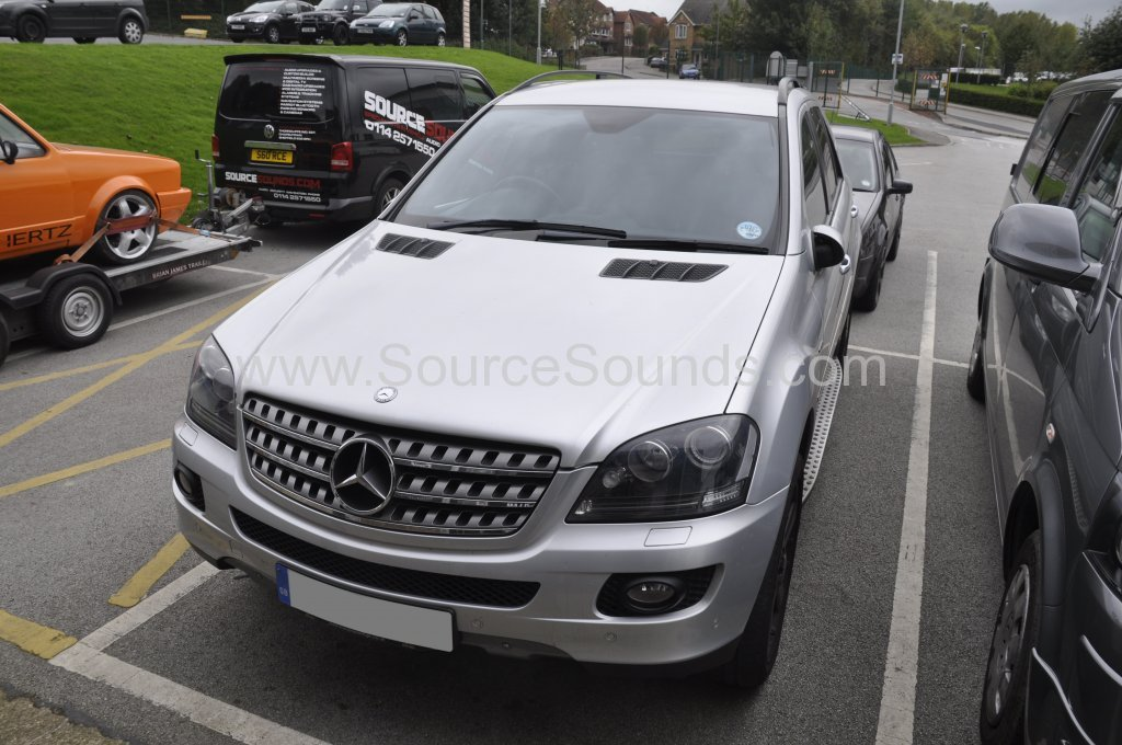Mercedes ML 2008 navigation audio upgrade 001