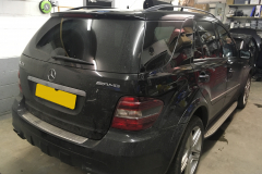 Mercedes ML AMG 2006 navigation upgrade 002
