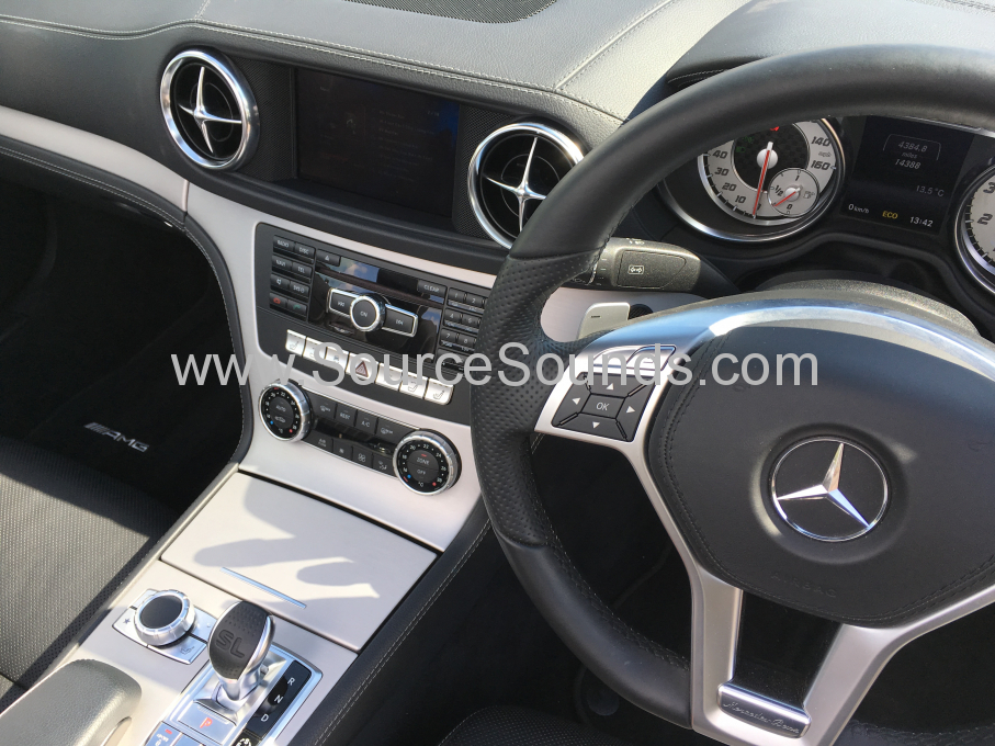 Mercedes SL500 2013 digital audio upgrade 011