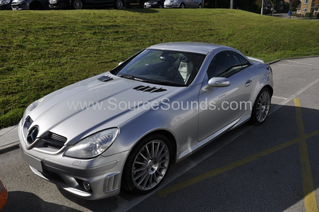 Mercedes SLK 2005 DAB upgrade 001
