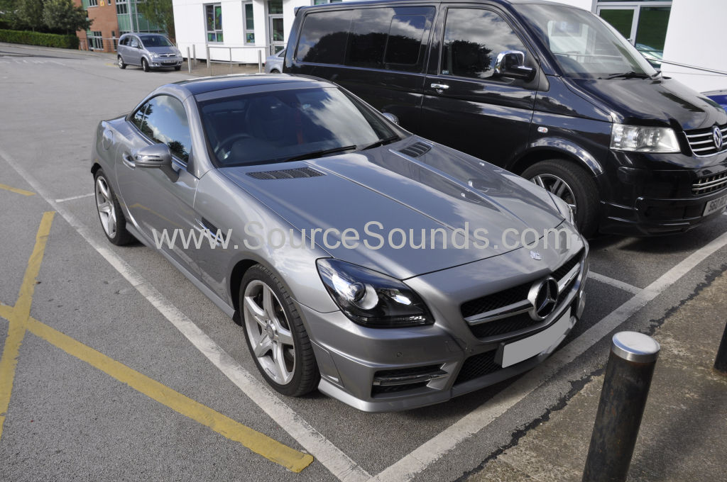 Mercedes SLK 2015 heated seats 001