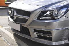 Mercedes SLK 2015 parkig sensors upgrade 002