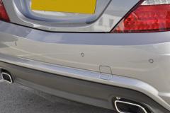 Mercedes SLK 2015 parkig sensors upgrade 008