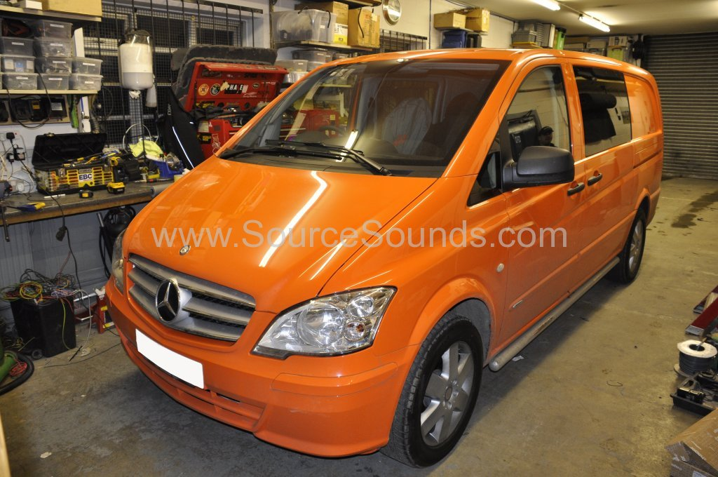 Mercedes Vito 2014 navigation upgrade 001