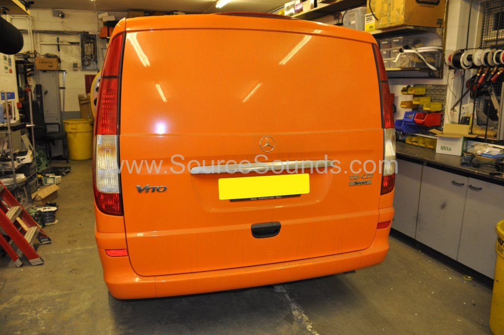 Mercedes Vito 2014 navigation upgrade 002