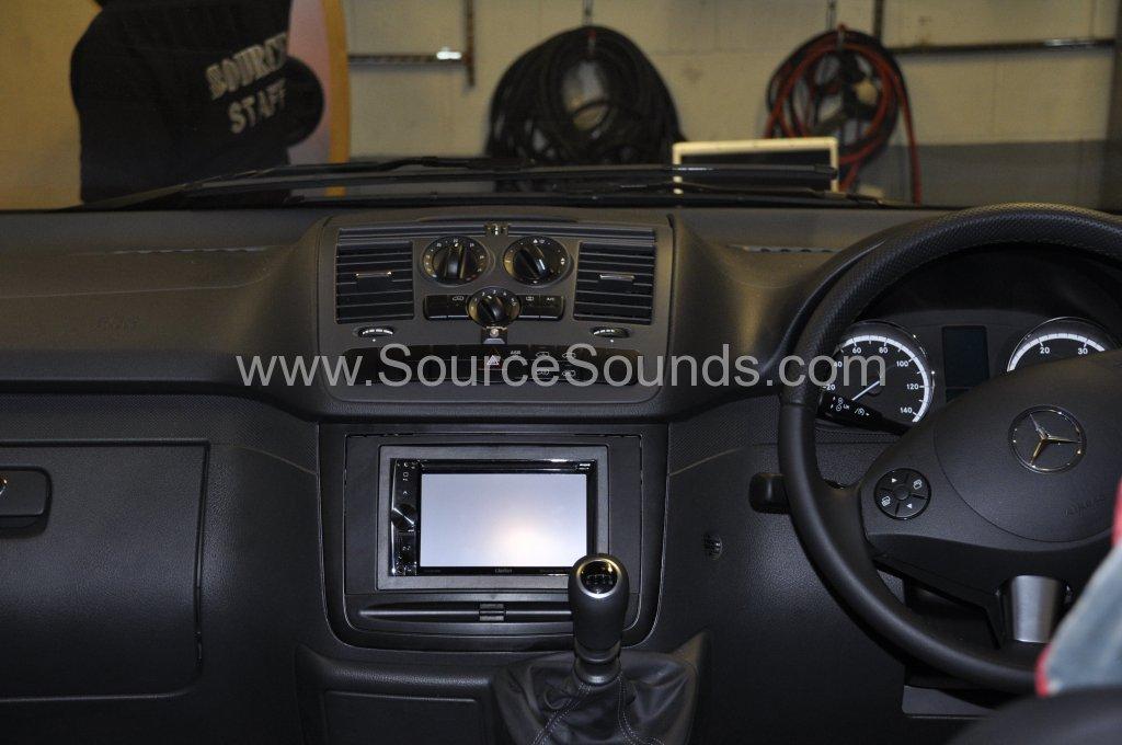 Mercedes Vito 2014 navigation upgrade 006