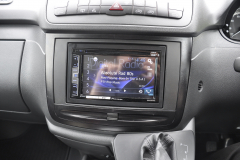 Mercedes Vito 2014 DAB screen upgrade 006