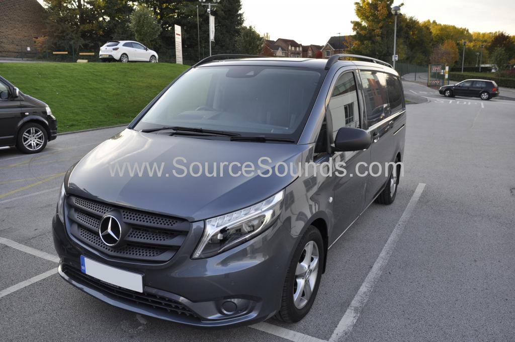 Mercedes Vito 2015 Digital TV upgrade 001