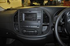 Mercedes Vito 2015 Digital TV upgrade 002
