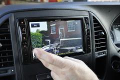 Mercedes Vito 2015 Digital TV upgrade 003