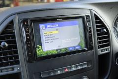 Mercedes Vito 2015 Digital TV upgrade 004