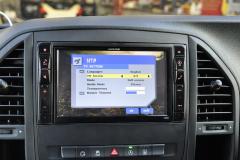 Mercedes Vito 2015 Digital TV upgrade 005