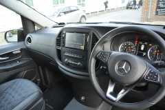Mercedes Vito 2015 Alpine navigation upgrade 003