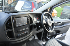 Mercedes Vito 2015 Alpine navigation upgrade 004