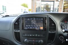Mercedes Vito 2015 Alpine navigation upgrade 005
