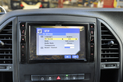 Mercedes Vito 2015 Alpine navigation upgrade 009