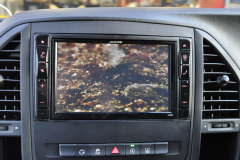 Mercedes Vito 2015 Alpine navigation upgrade 010