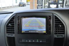 Mercedes Vito 2015 Alpine navigation upgrade 011