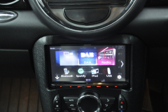 BMW Mini Cooper 2012 DAB screen upgrade 006
