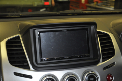 Mitsubishi L200 2015 DAB screen 005