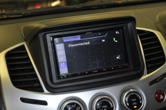 Mitsubishi L200 2015 DAB screen 007