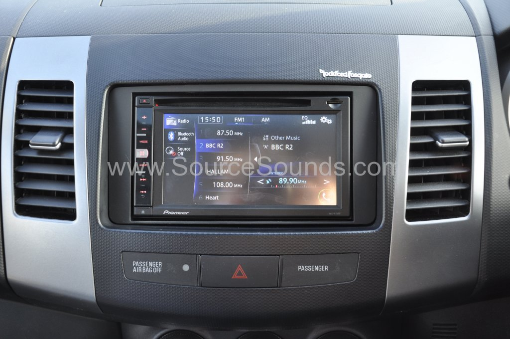 Mitsubishi Outlander 2007 Navigation Upgrade Source Sounds