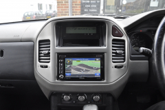 Mitsubishi Shogun 2006 navigation upgrade 006