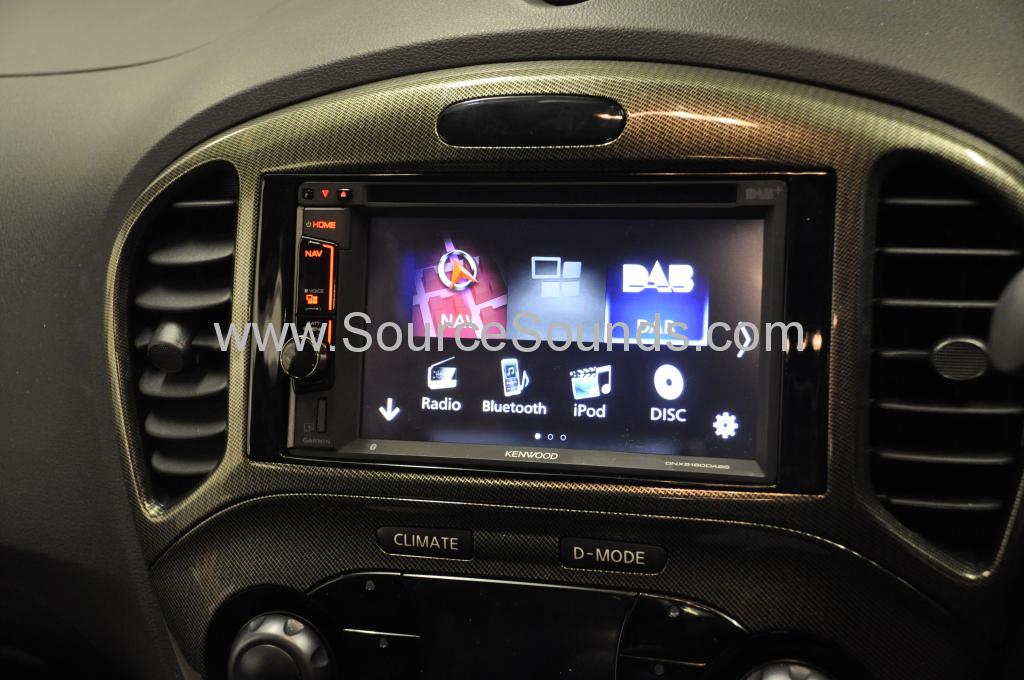 Nissan Juke 2015 navi upgrade 005