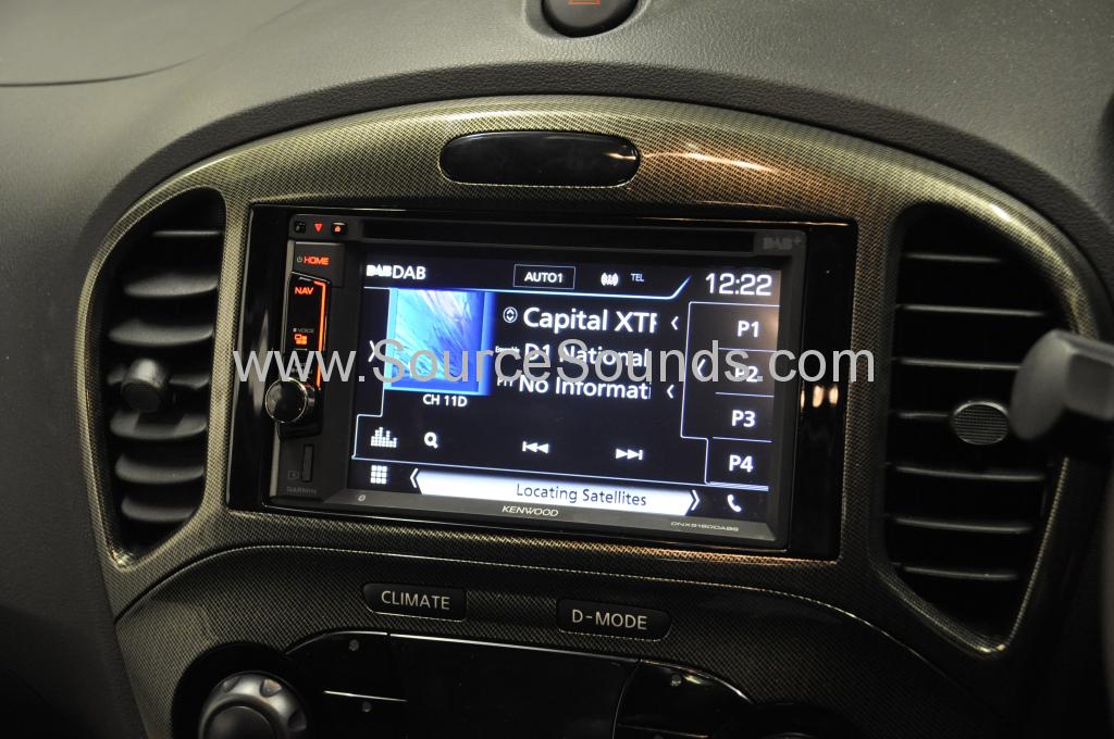 Nissan Juke 2015 navi upgrade 006