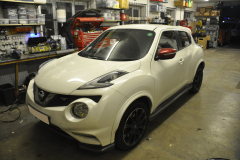 Nissan Juke 2015 reverse camera upgrade 001