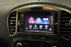 Nissan Juke 2015 reverse camera upgrade 006