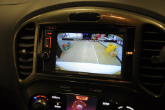 Nissan Juke 2015 reverse camera upgrade 008