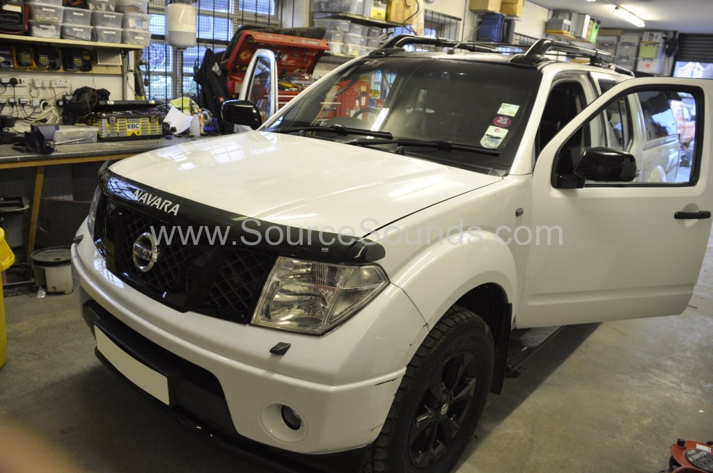 Nissan Navara 2006 Navigation upgrade 001