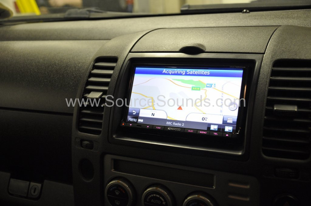 Nissan Navara 2006 Navigation upgrade 008