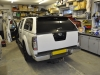 Nissan Navara 2006 reverse camera upgrade 002