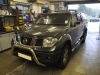 Nissan Navara 2009 reverse camera upgrade 001
