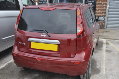 Nissan Note 2011 rear parking sensors 002