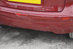 Nissan Note 2011 rear parking sensors 004
