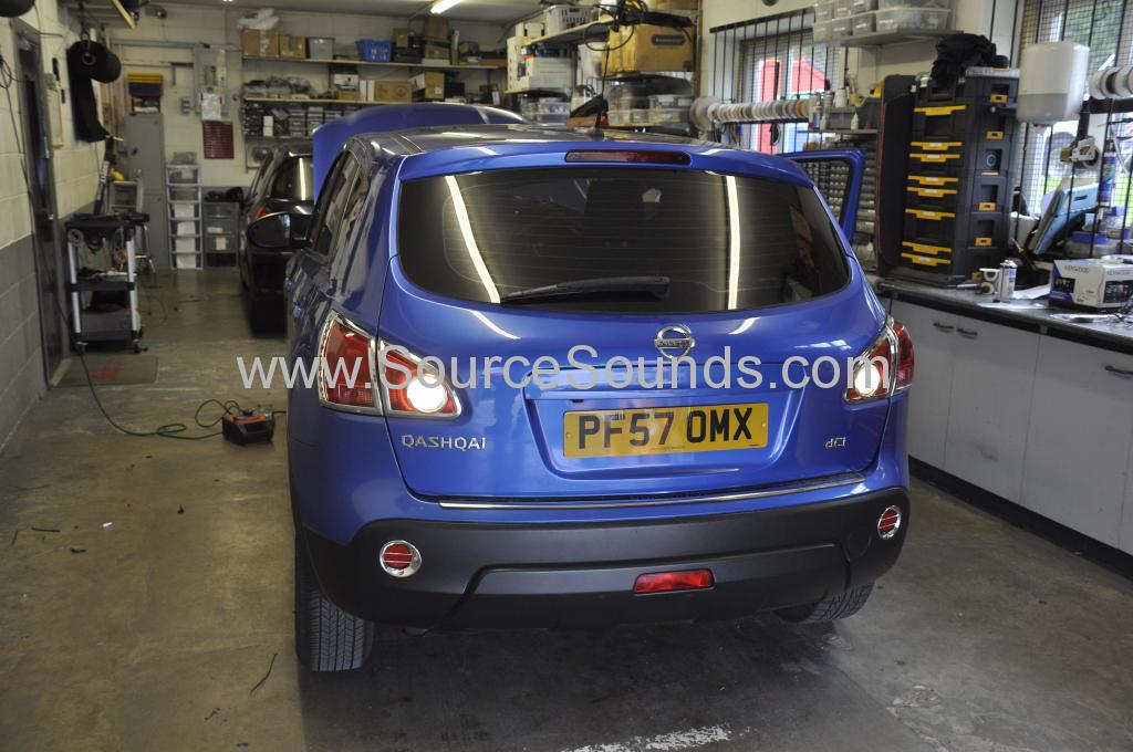 Nissan Qashqai 2007 DAB upgrade 001