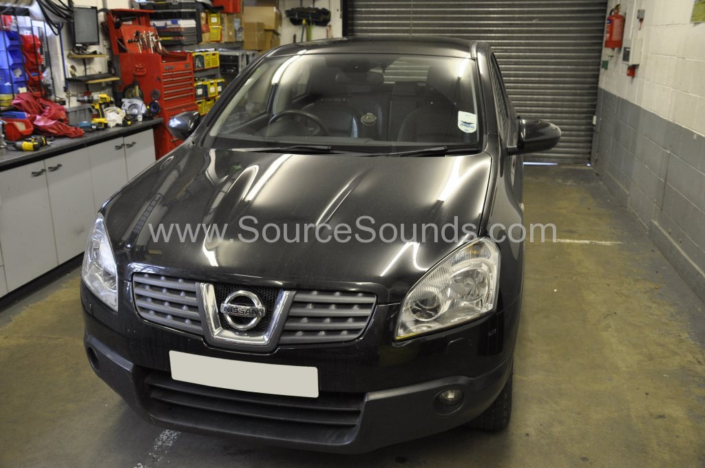 Nissan Qashqai bass upgrade 001