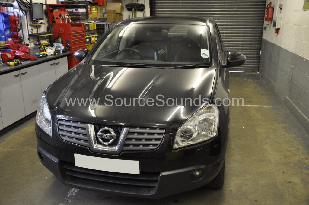 Nissan Qashqai 2008 bluetooth upgrade 001