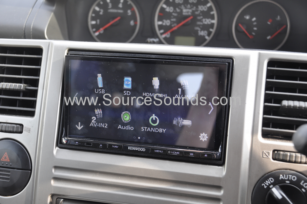 Nissan Xtrail 2005 navi upgrade 005