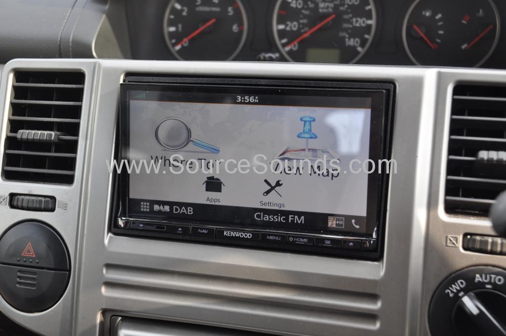 Nissan Xtrail 2005 navi upgrade 006