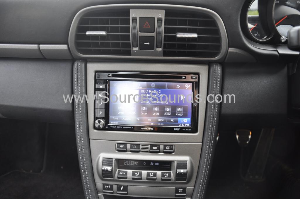Porsche 997 2006 navigation upgrade 006