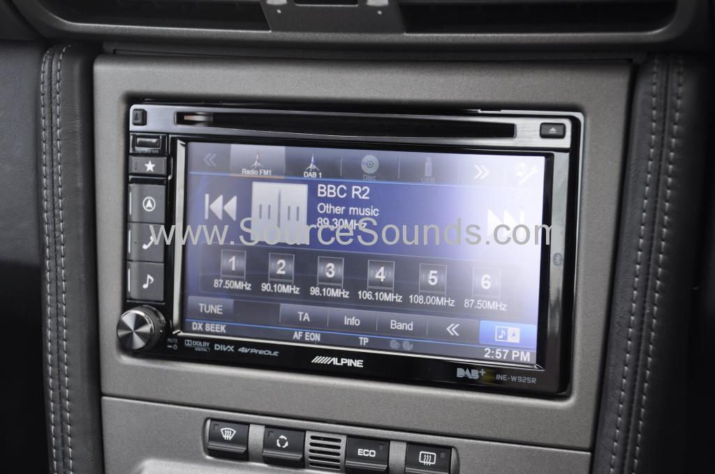 Porsche 997 2006 navigation upgrade 007